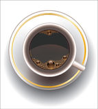 Coffee cup. Stock Photography
