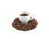 Coffee in cup Stock Photography
