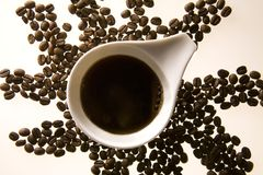 Free Coffee Cup And Coffee Beans 2 Royalty Free Stock Photos - 2758038
