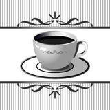 Coffee cup background Royalty Free Stock Photo