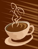 Coffee cup background Stock Photo