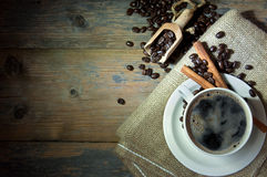 Coffee cup background Stock Images