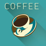 Coffee Cup Background Royalty Free Stock Photography