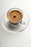 Coffee cup with bean Royalty Free Stock Images