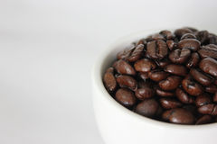 Coffee. A cup of coffee bean Stock Photography