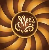 Coffee cup. bean coffee. Music jazz Royalty Free Illustration
