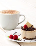 Coffee with cup-cake Royalty Free Stock Images