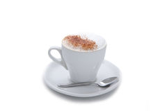Coffee cup cappuccino Stock Images