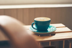 Coffee cup of cappuccino Royalty Free Stock Images