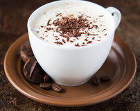 Coffee cup. And chocolate candies Royalty Free Stock Images