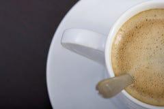 Coffee cup close up Stock Photos