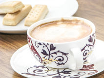 Coffee cup close up Stock Images