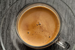 Coffee cup with coffe Royalty Free Stock Photography