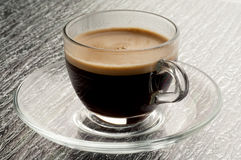 Coffee cup with coffe Stock Photos
