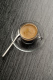 Coffee cup with coffe Stock Image