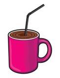 Coffee cup (Coffee mug). Vector illustration of the Coffee cup (Coffee mug Royalty Free Stock Image