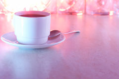 Coffee cup colored Royalty Free Stock Photography