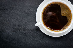 Coffee Cup with Copy Space Area royalty free stock image
