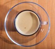 Coffee Cup Crema Stock Photography