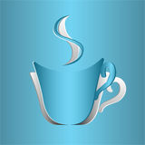 Coffee Cup Cutout Royalty Free Stock Photo