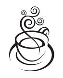 Coffee cup design Royalty Free Stock Photo