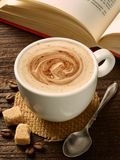 Coffee cup drink espresso cafe mug royalty free stock photo