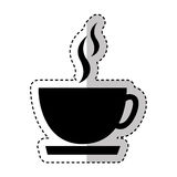 Coffee cup drink isolated icon Stock Image