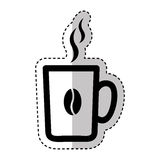 Coffee cup drink isolated icon Royalty Free Stock Photography