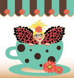 Coffee Cup Fairy Vector Stock Photos