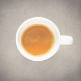 Coffee cup on fine art texture Royalty Free Stock Photos
