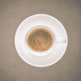 Coffee cup on fine art texture Royalty Free Stock Photo