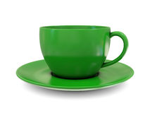 Coffee cup green Stock Image