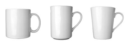 Coffee cup group 1 Stock Photos