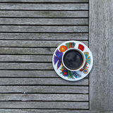 Coffee Cup. Hand crafted coffee cup Stock Photo