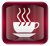 Coffee cup icon Stock Photography