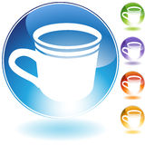 Coffee Cup Icon Royalty Free Stock Images
