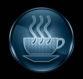Coffee cup icon dark blue. Royalty Free Stock Photography