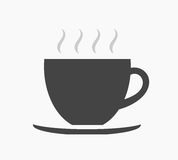 Coffee cup icon Royalty Free Stock Photos