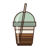 Coffee cup icon Royalty Free Stock Photo