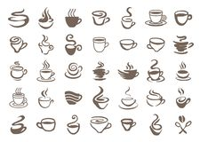 Coffee cup icon symbol illustration isolated on white background vector illustration