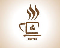 Coffee Cup Icon Symbol Royalty Free Stock Image