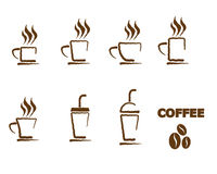 Coffee Cup Icon Symbol Vector Stock Photo