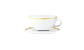 Coffee Cup Icon with White Background stock illustration