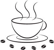 Coffee cup icon Stock Image