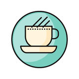 Coffee Cup Icon Stock Photo