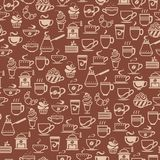 Coffee cup icons Royalty Free Stock Image