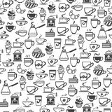 Coffee cup icons Stock Photography