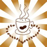 Coffee Cup Illustration Stock Photo