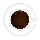Coffee cup illustration Stock Photography