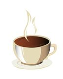Coffee Cup. Ilustration of a coffee cup royalty free illustration